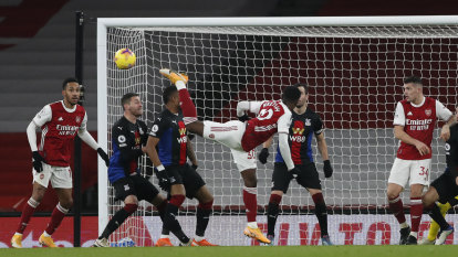 Arsenal languishing mid-table after Premier League draw with Palace