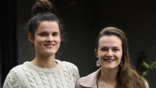 Veronica Sherwood-Meares and Charlotte Norman have had the AstraZeneca jab.
