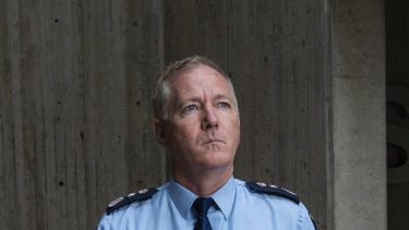 NSW Police Commissioner Mick Fuller fears the impact of economic hardship on crime in the years ahead.