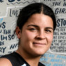 Debut 15 years in the making for AFLW's new breed of role model