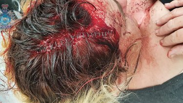 A woman was attacked while driving in Mandurah.