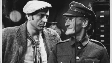 Steptoe And Son: 'Pilgrim's Progress' - Harry H. Corbett and Wilfrid Brambell.