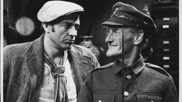 Steptoe And Son: 'Pilgrim's Progress' - Harry H. Corbett and Wilfrid Brambell.