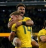 'Respect to be put back in that jersey': All Blacks' ominous warning for wounded Wallabies