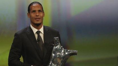 Van Dijk, Bronze claim top UEFA awards