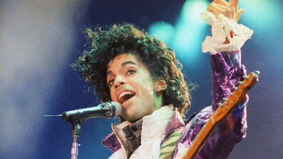 Prince, pop superstar.