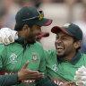 Bangladesh sink Afghanistan after Shakib brilliance