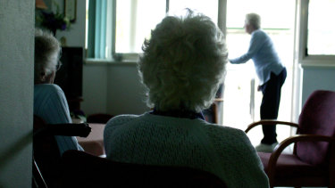 Community services for the elderly are among those that face the funding fall.