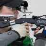 Shooting pains: for this Olympian, sport relieves the pressure