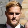 Jack de Belin challenges NRL power to suspend him over criminal charge
