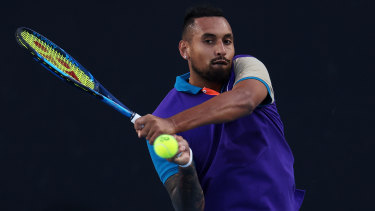 Kyrgios was far too strong for fellow Australian Harry Bourchier.