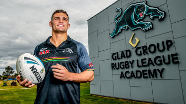 Future: Retaining Nathan Cleary was a key plank in Penrith's long-term plans.