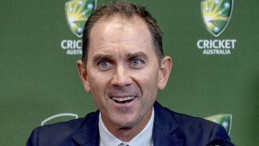 Right man for the job: Justin Langer.