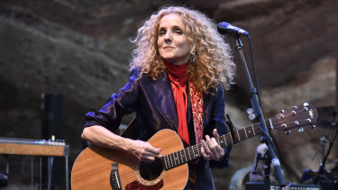 Patty Griffin on stage in September.