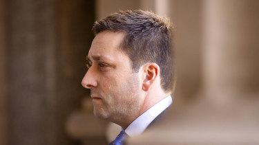Opposition Leader Matthew Guy