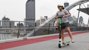 Lime will release the details of their safety campaign in Brisbane at 11.30am. (File image)