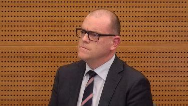 Insurance Australia Group executive Benjamin Bessell.