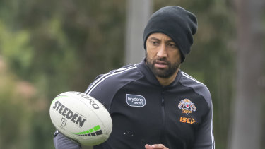 Benji Marshall hasn't played for the Tigers in almost a month.