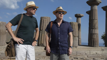 Rob Brydon (right) and Steve Coogan in a scene from The Trip to Greece.
