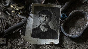 Gena Lozynsky, pictured, and his wife Lida were two of the last people living in the village until they were both murdered.
