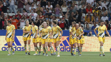 Australia were knocked out at the round of 16 in this year's World Cup in France.