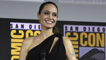 Angelina Jolie will play Thena in The Eternals.