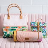 The Somewhere Co. Cooler Bag, Lunch Satchels and Picnic Blankets come in many colours and patterns.