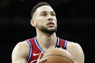 Ben Simmons could be sidelined for another three weeks with a pinched nerve in his back.