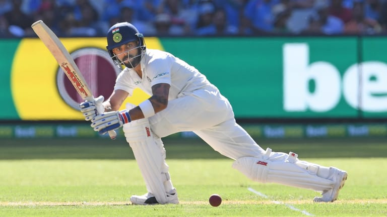 Flip of a coin: Kohli made a well-constructed 82 on days one and two, but it was him winning the toss that was the biggest moment of the Test at the MCG.