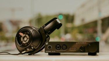 Sennheiser's HD820 headphones and HDV820 headphone amplifier.
