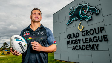 The man: Retaining Nathan Cleary was a key plank in Penrith's long-term plans.