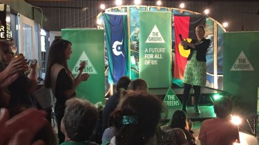 Greens Senator Larissa Waters pays tribute to candidates and volunteers in Queensland.