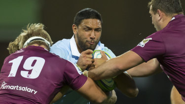 On song: Waratahs centre Curtis Rona is making the most of his opportunities.