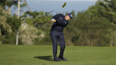 Mickelson believes he achieved a new feat during his impressive opening round.