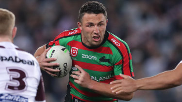 The playing future of Souths captain Sam Burgess is shrouded in uncertainty.