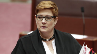 Foreign Minister Marise Payne is providing consular assistance to the families of the Australians.