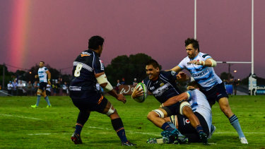 Back in action: Ashley-Cooper played 40 minutes against the Brumbies in Goulburn last week.