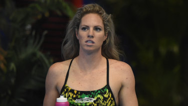 Tough times: Emily Seebohm has spoken about how her relationship break-up impacted her preparation.