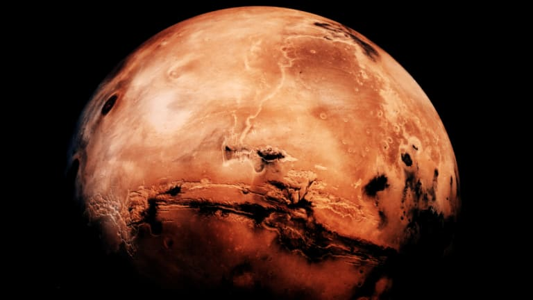The red planet is closer than usual.