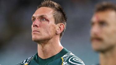 Dane Haylett-Petty after Australia's Bledisloe Cup loss in Sydney last year.