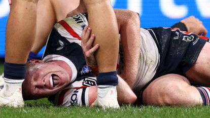 Roosters star still in hospital, Brown facing three-week ban as bunker fallout continues