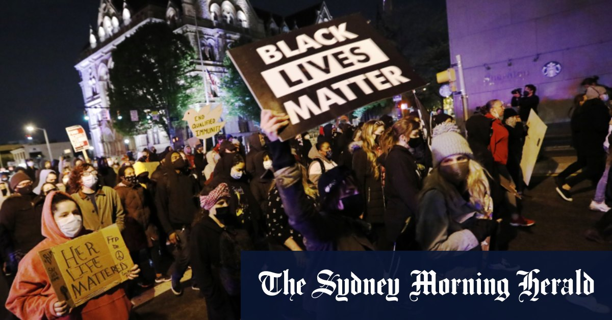 Protests break out in Ohio after police shoot black teenage girl – Sydney Morning Herald