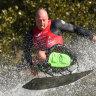 'Kick their butt': The paraplegic, double amputee, water-skiing extraordinaire
