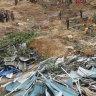 Myanmar landslide kills dozens