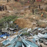 Myanmar landslide kills dozens