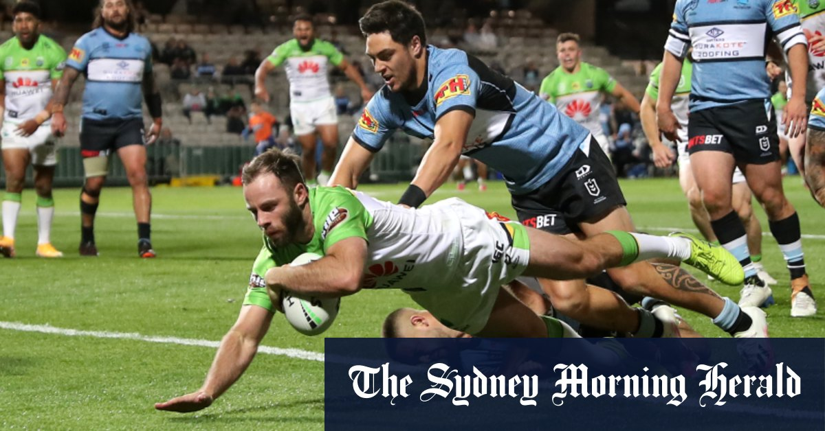 Loss to depleted Raiders seals unwanted top-eight record for Sharks – Sydney Morning Herald