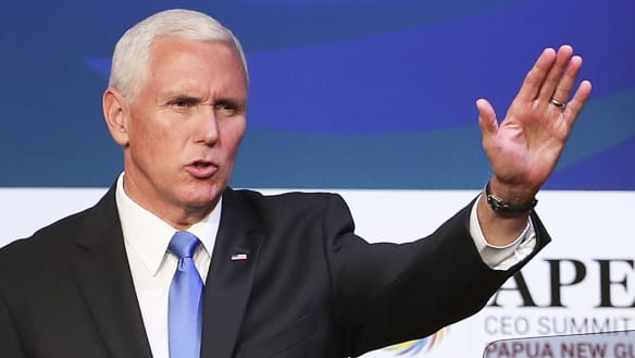Mike Pence announces US-Australia military pact to expand Manus Island naval base