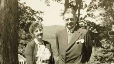 Emily Hale and T.S. Eliot pictured in 1946.