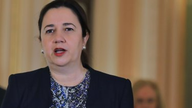 Annastacia Palaszczuk and her ministers reiterated the merits of the government's border policy, while the LNP zeroed in on Labor's economic record.