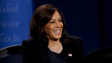 Kamala Harris, the Vice-President-elect, who studied social sciences.